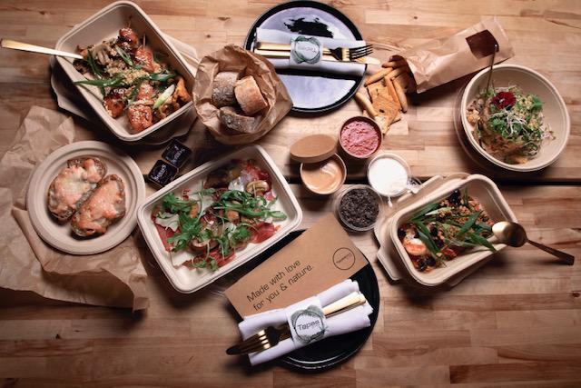 De Tapasbox gerechten